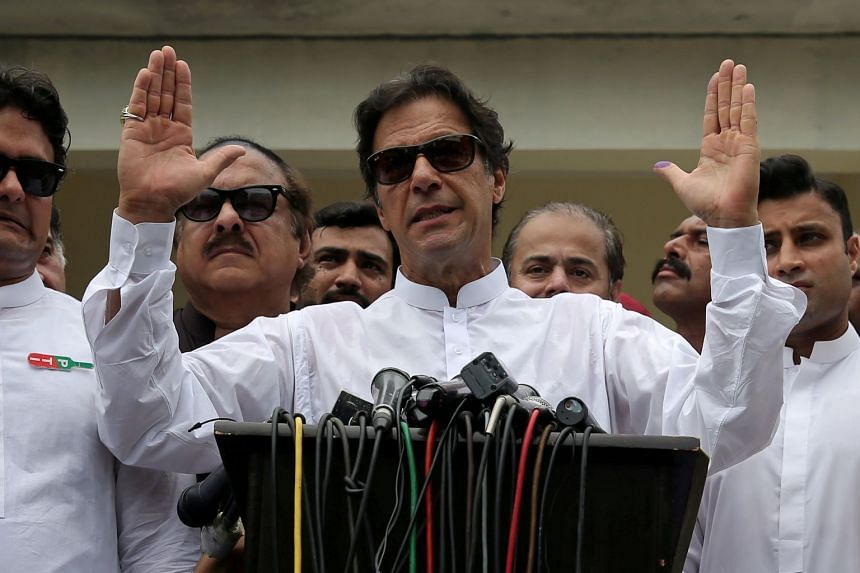 Cricket legend and charismatic politician Imran Khan needs to win 141 of 272 seats to form his own government.
