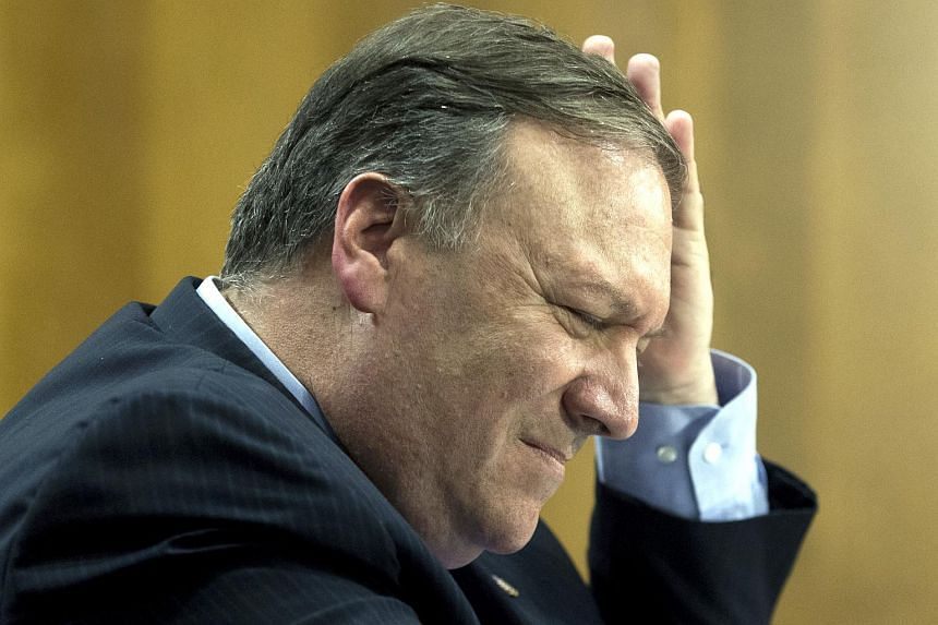 US Secretary of State Mike Pompeo faced tough questioning from Democrats and Republicans during testimony.
