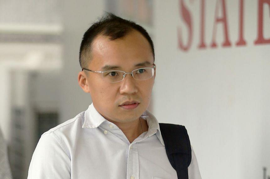 Kenneth Chong Chee Boon, 37, a lieutenant and rota commander.