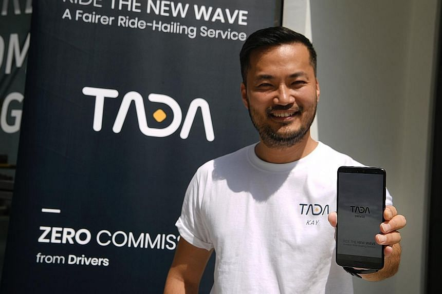 "Mass Vehicle Ledger Foundation founder Kay Woo said the firm's Tada app, which was launched yesterday, currently has more than 2,000 drivers signed up on its platform, and it aims to have ""around 3,000 or 4,000 drivers by next month""."