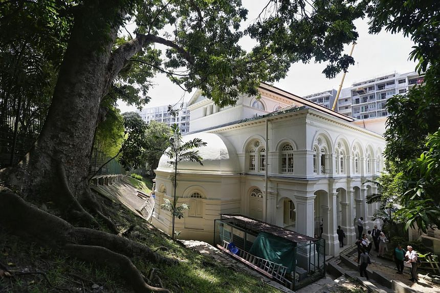 The front canopies of Chesed-El Synagogue in Dhoby Ghaut will be rectified.