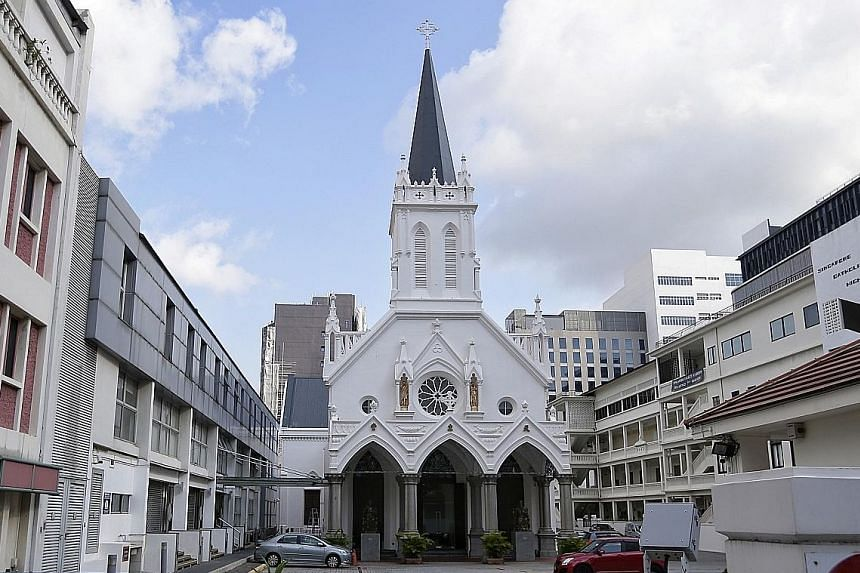 Church of Saints Peter and Paul in Bencoolen will get funds for its maintenance.