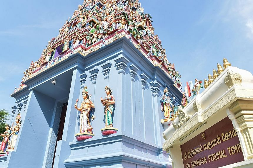 Thian Hock Keng temple in Telok Ayer will get money to repair its roof. The Sri Srinivasa Perumal Temple in the Farrer Park area will have its sculptures restored, among other works. Cracks on the gable end walls of Al-Abrar Mosque will be repaired,