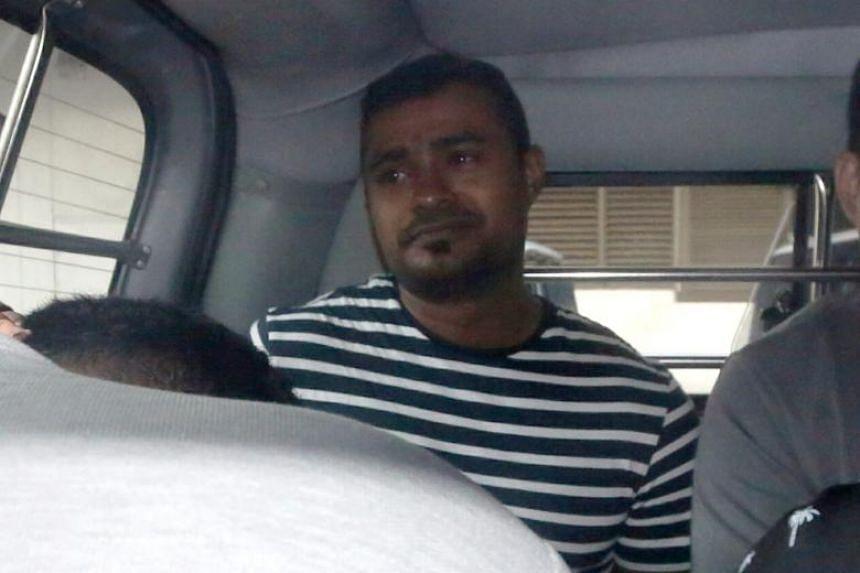 Arjun Retnavelu was taken by police investigators to Lower Peirce Reservoir on July 26 to retrieve the sword.