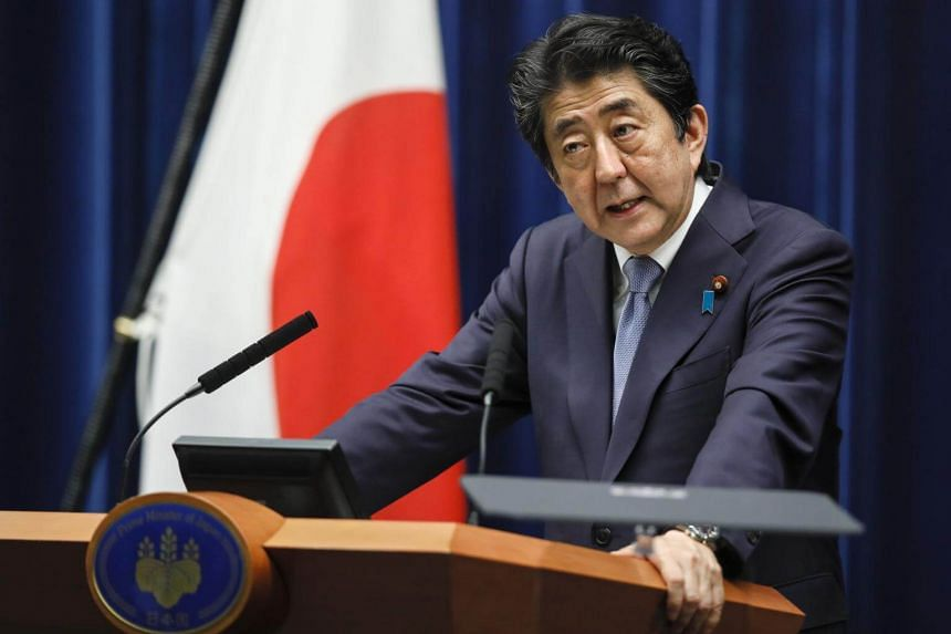 Public support has been dropping for Japanese Prime Minister Shinzo Abe, who has yet to indicate if he will file his candidacy.