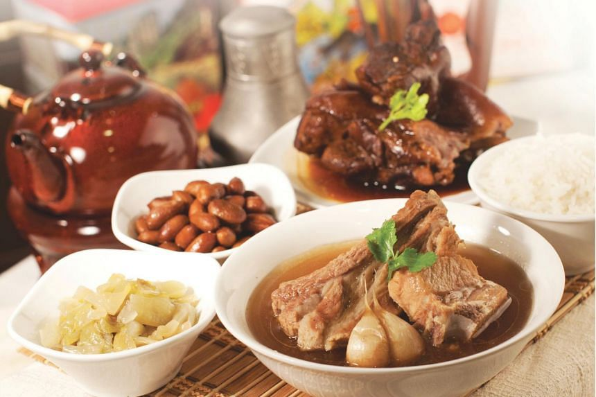 Ng Ah Sio Bak Kut Teh's peppery pork broth, which will be served at its first franchise restaurant in Taiwan.
