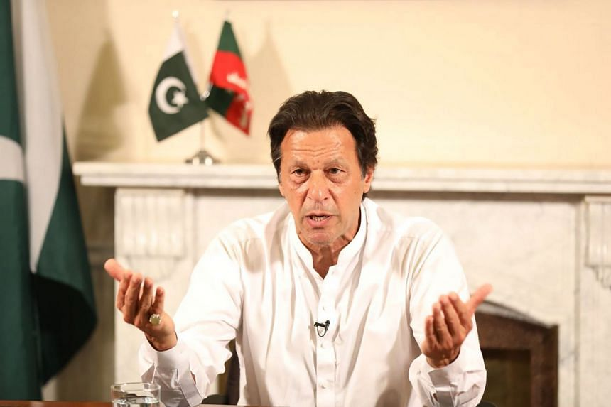 Cricket hero turned politician Imran Khan addressing his nation after the general election. When he turned to politics in the 1990s, Pakistan was a mess, poor, troubled and divided.