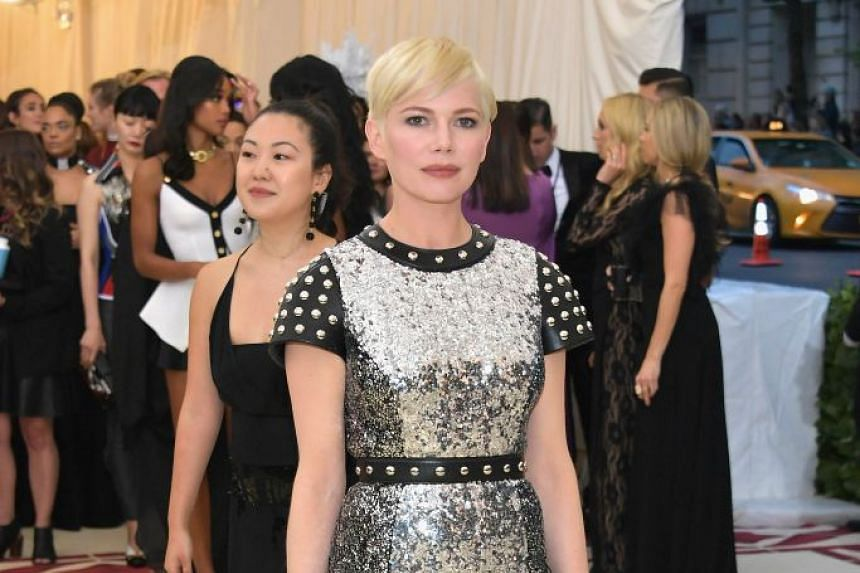 Michelle Williams attending a fashion gala in New York City in May 2018.