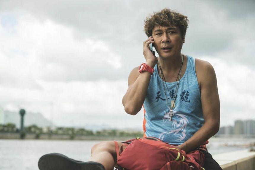 Veteran actor Francis Ng in Men On The Dragon.