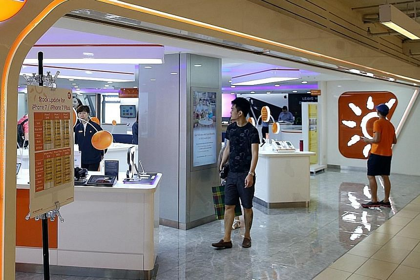 M1 expects a softer six months ahead, estimating second-half profits to be lower in view of market seasonality and impending new competition. The board has declared an interim dividend of 5.2 Singapore cents a share, flat on the previous year.