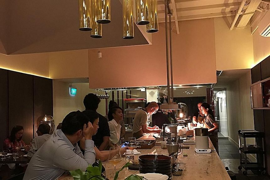 Nouri (above), which serves crossroads cooking, each earned a Michelin star for the first time.
