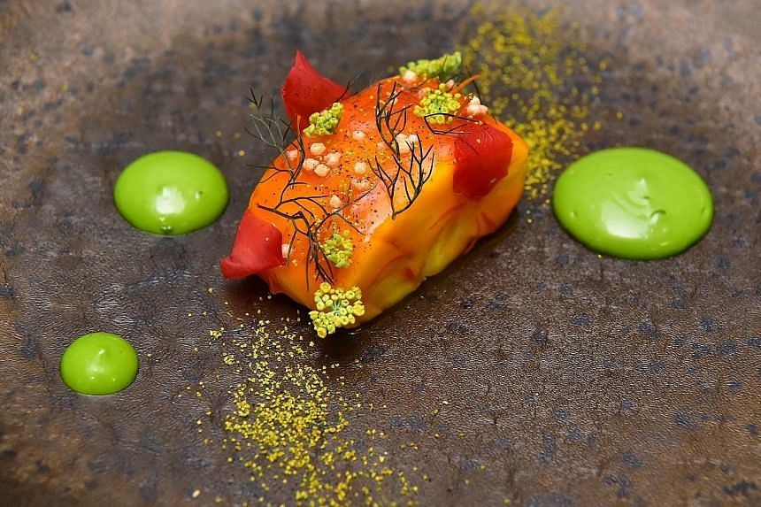 Nouri, which serves crossroads cooking, each earned a Michelin star for the first time.