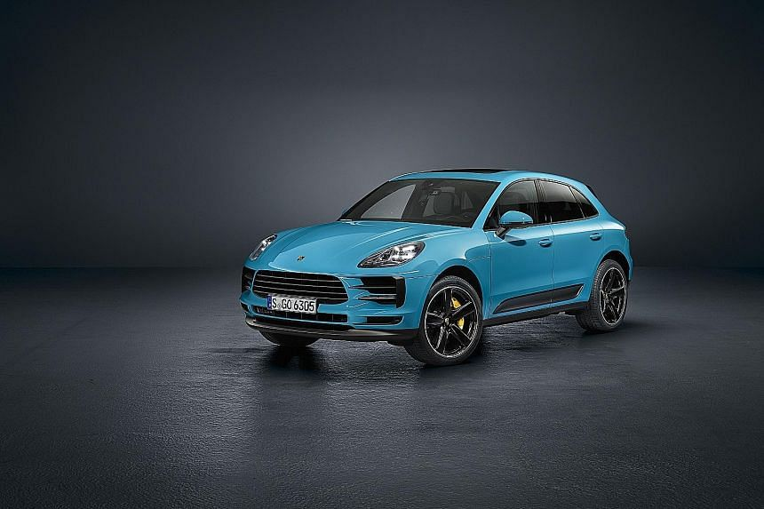 Porsche has unveiled its facelifted Macan.