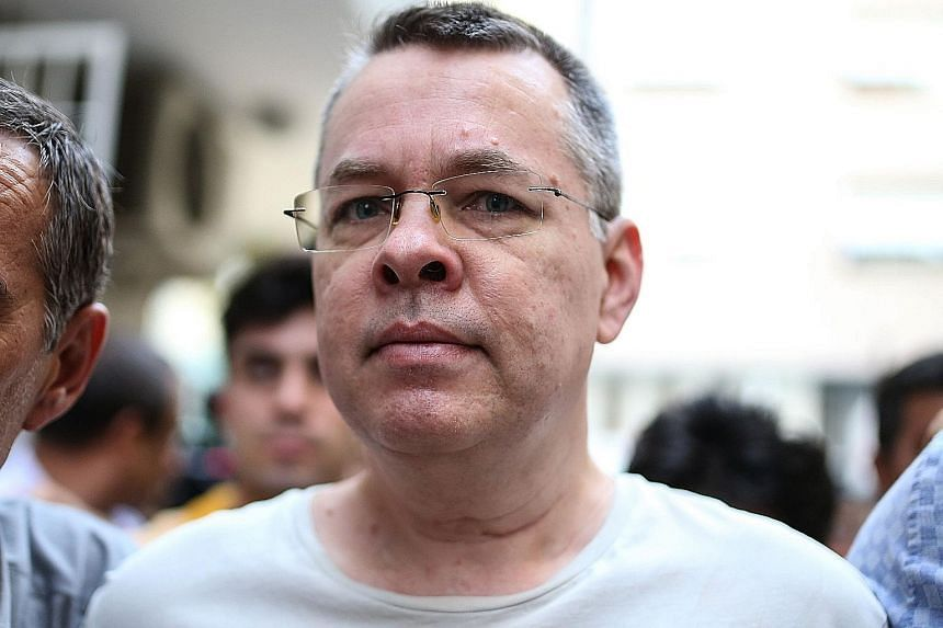 Mr Andrew Brunson, 50, an American evangelical pastor who has been imprisoned in Turkey for 21 months, was moved from jail to house arrest because of health concerns.