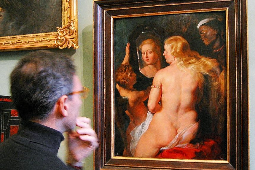 One of Peter Paul Rubens' works. Facebook's policy of blocking ads that depict nudity meant VisitFlanders' advertisements for the Rubens House Museum were treated in the same way as pornography.