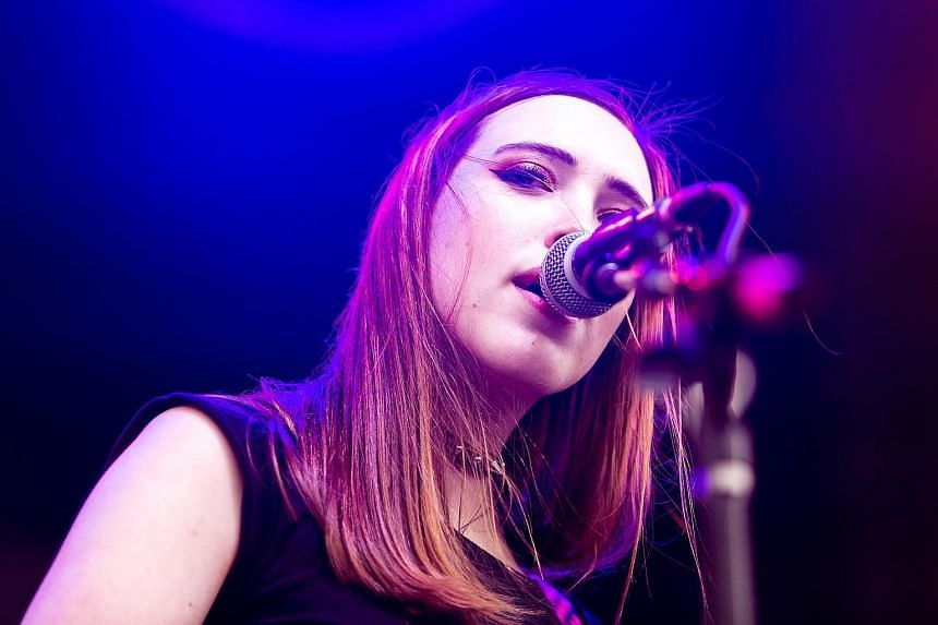 Female acts scheduled to play at Iceland Airwaves include acclaimed electronic act Fever Ray and American singer-songwriter Soccer Mommy (left).