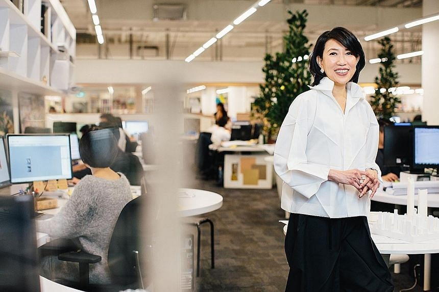 Architect Angelene Chan (above) counts The Dubai Mall (right) among her memorable projects.