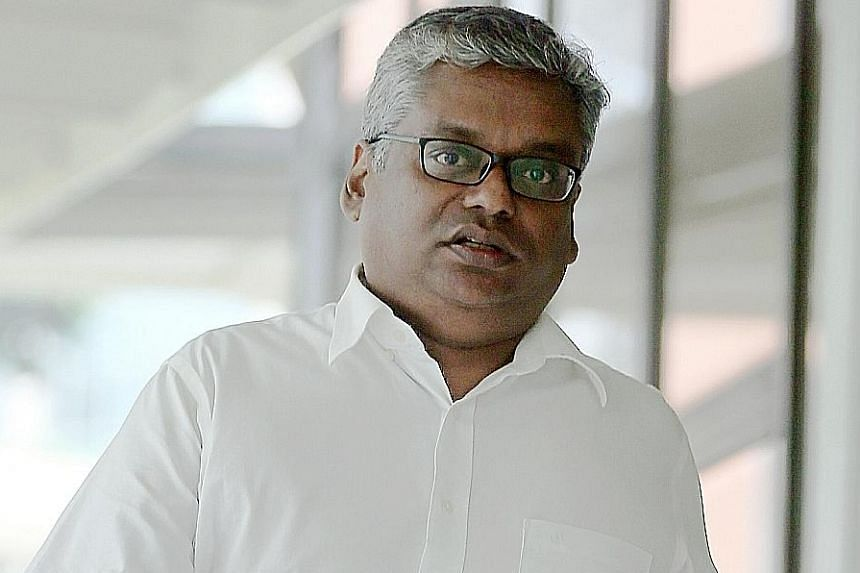 Rajkumar Padmanathan, 49, set up a firm in his wife's name but he was the true owner. He then recommended RSAF jobs to the firm.