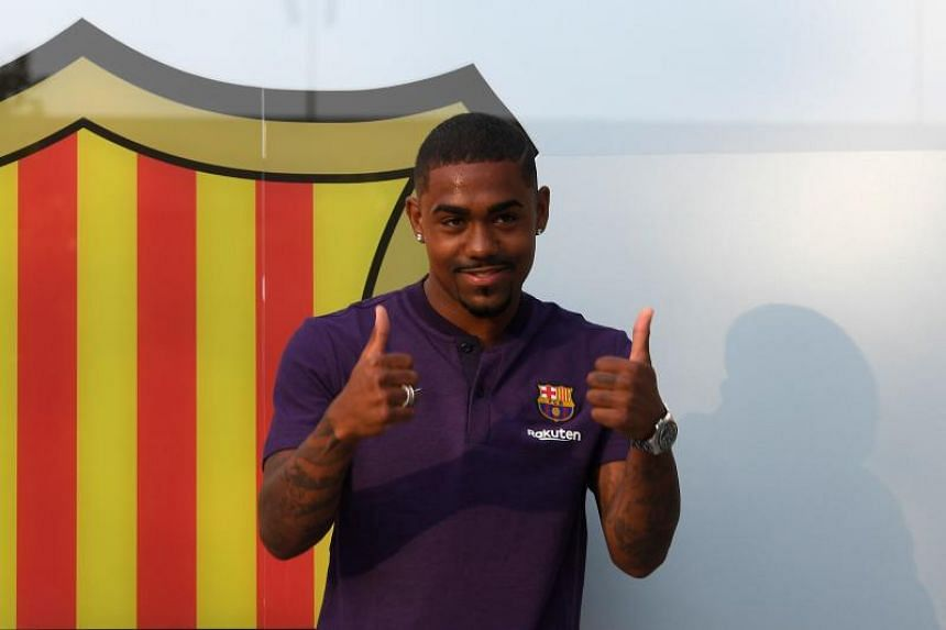Barcelona swooped to sign Brazilian forward Malcom on a five-year deal from Bordeaux for an initial €41 million (S$65.1 million) in a surprise move, after Roma had struck a deal with the French club.