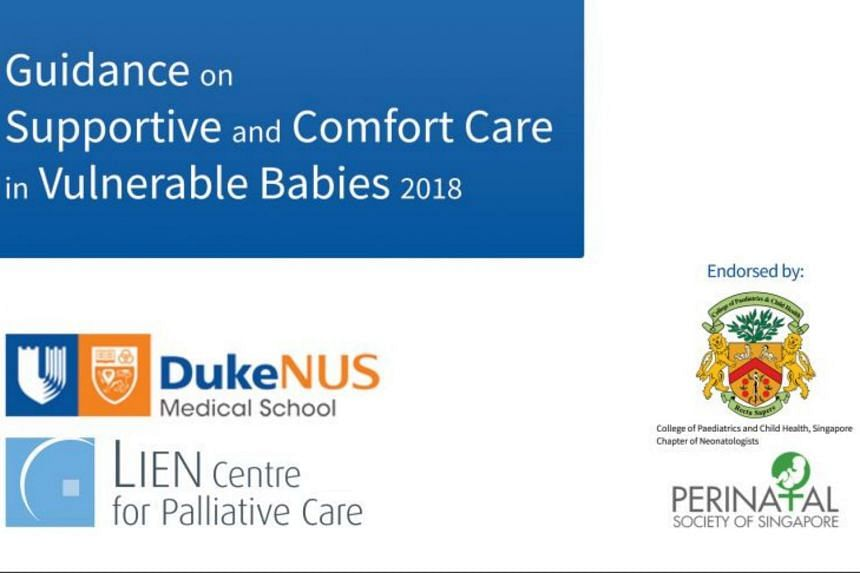 Launched on July 28, 2018, the guidance book is issued to equip healthcare professionals with the knowledge and skills to provide palliative care to vulnerable babies. It is available online on the Lien centre's website.