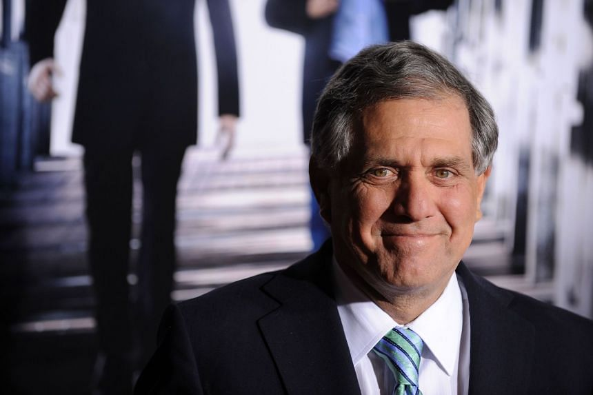 File photo showing CBS President Leslie Moonves who is under investigation for claims of personal misconduct.