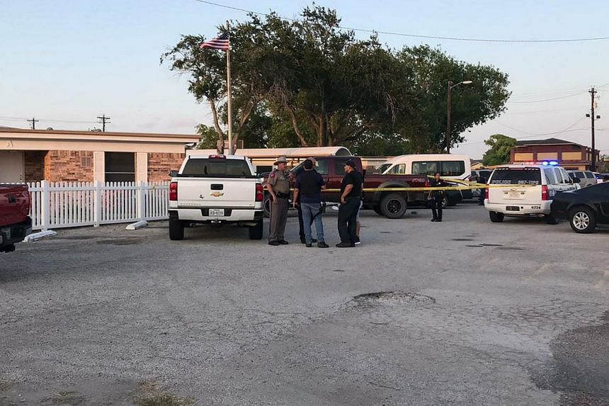 """Police in Robstown, Texas, responded to an """"active shooting"""" at the Retama Manor Nursing Centre at about 7pm on Friday (July 27)."""