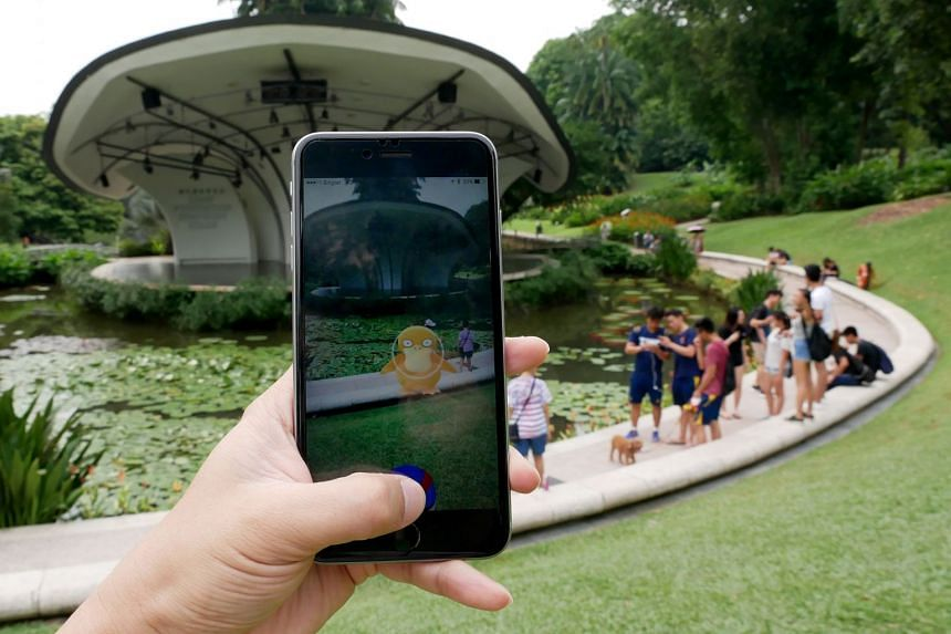 File photo of the popular Pokemon Go video game on a smartphone. Young people who face gaming addiction often lack outdoor exposure, self-esteem and social skills.