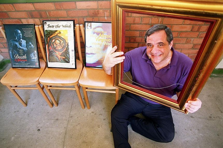 SRT founder Tony Petito, who co-wrote its 2015 blockbuster show The LKY Musical, died last week in New Jersey after a prolonged illness.