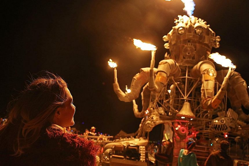 """The Edinburgh Fringe Festival includes genres such as dance and children's performances. Burning Man is a week-long event in the middle of Black Rock Desert in Nevada which culminates in the burning of an effigy known as """"The Man""""."""