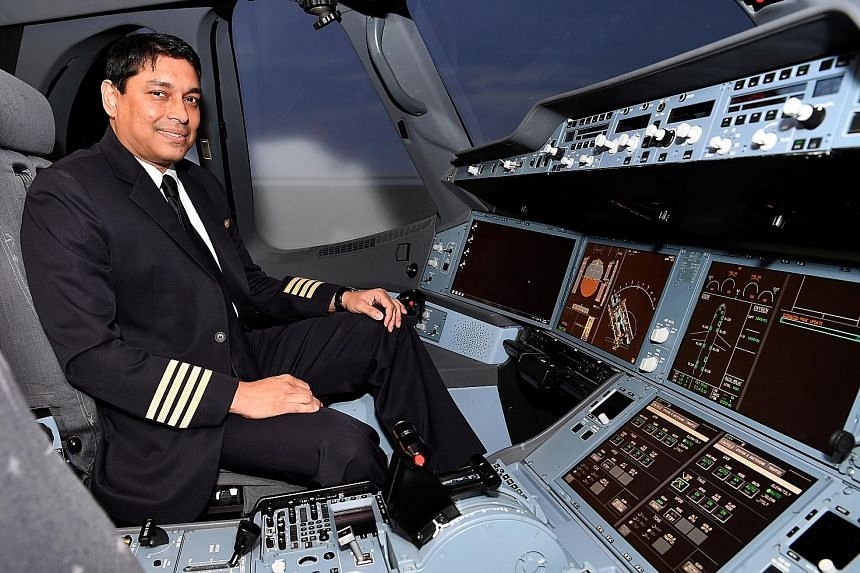 Captain Indranil Ray Chaudhury will pick up SIA's first A350-900ULR aircraft in Toulouse in September. He will also fly the Newark-Singapore leg of the service's first flight in October.