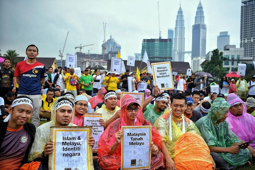 Supporters of Malay political parties and groups claim that Malay-Muslim interests came under threat after the Pakatan Harapan coalition won the May 9 elections. Among their unhappiness was the coalition keeping its election promise to recognise a Ch