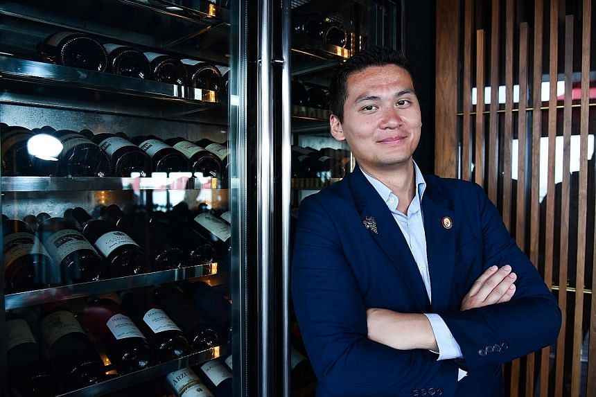 Ce La Vi's Mathias Camilleri is the first master sommelier in Singapore and only one of 249 in the world.