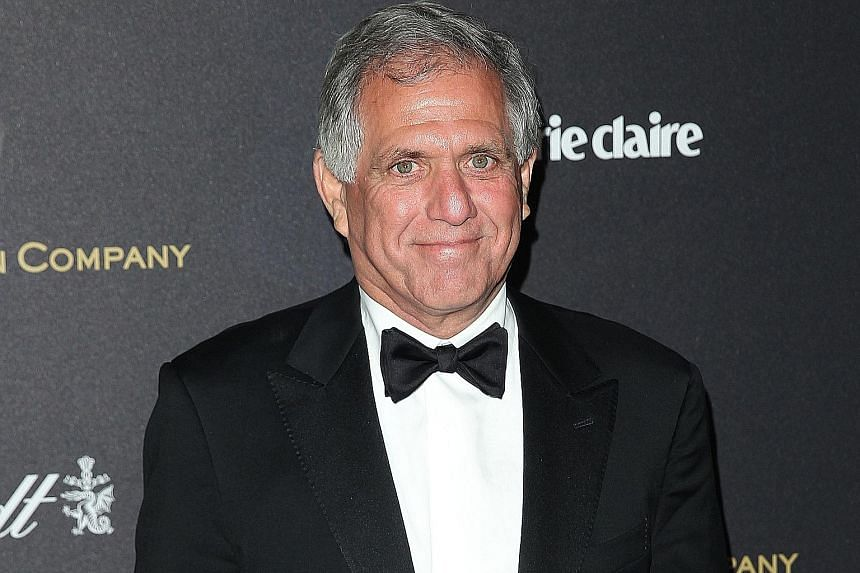 Mr Leslie Moonves faces claims from six women spanning different periods over two decades, from 1985 to 2006.