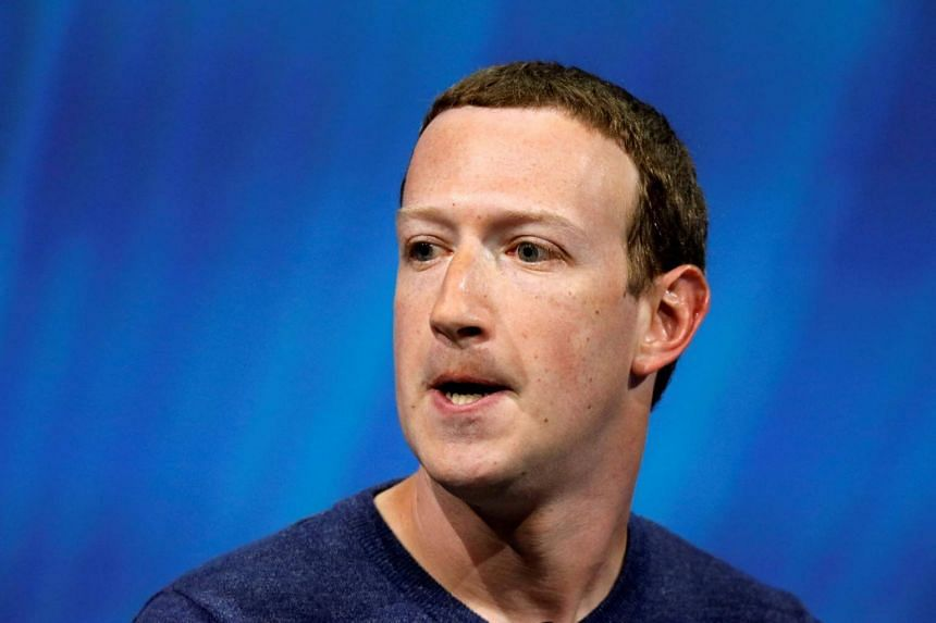 Facebook's founder and CEO Mark Zuckerberg speaking at the Viva Tech start-up and technology summit in Paris, France, on May 24, 2018.