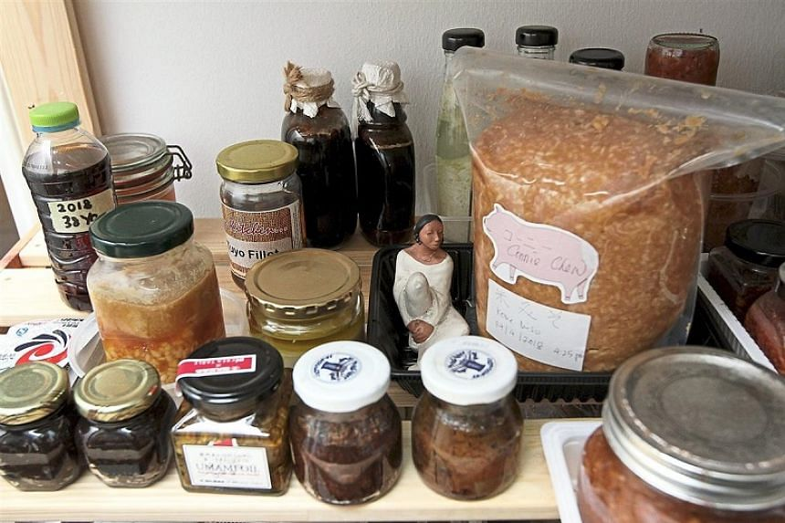 Connie Chew's home is filled with all sorts of fermented food.