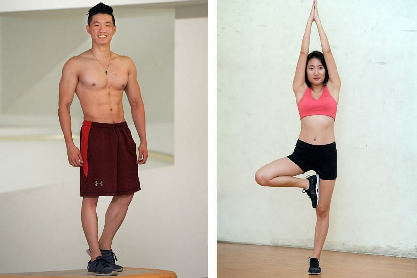 From left: Jino Quek, 21 and Rebecca Kim Jiwon, 22.