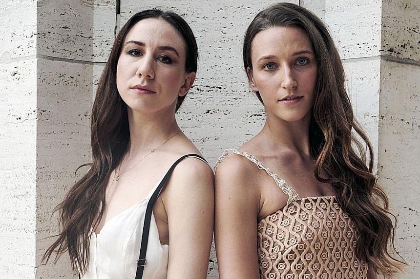 American Ballet Theatre principal dancers Isabella Boylston (left) and Devon Teuscher are a lesson in contrasts.