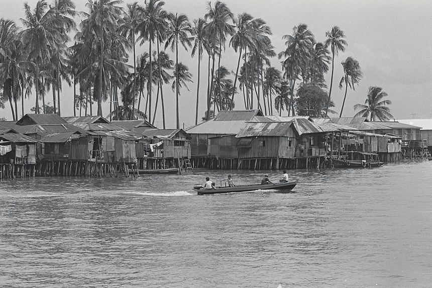 Pulau Seking's last islanders were relocated in 1994 to make way for a landfill operation.