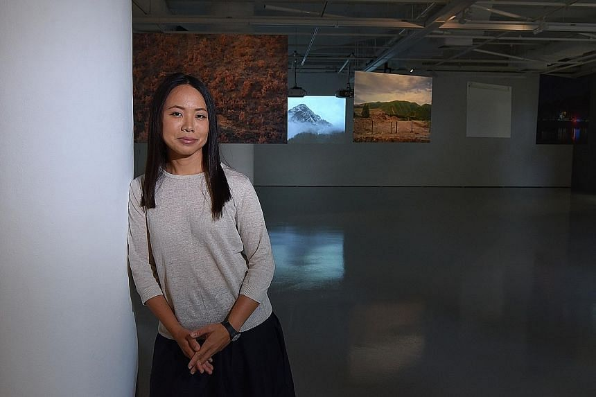 Sim Chi Yin's exhibition, titled Most People Were Silent, features photos of nuclear sites.
