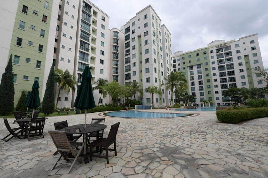 File photo showing condominium units in Bukit Timah.