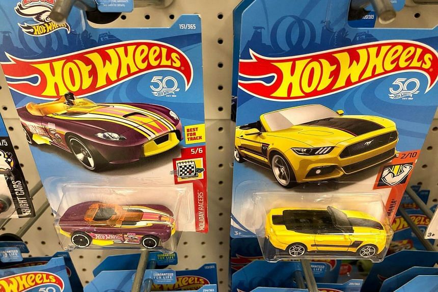Hot Wheels, which just celebrated its 50th birthday, had a 21 per cent surge in revenue.