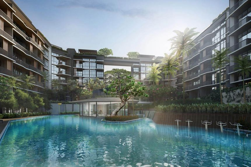 An artist's impression of Daintree Residence condo, which has sold 50 of the 80 apartments.