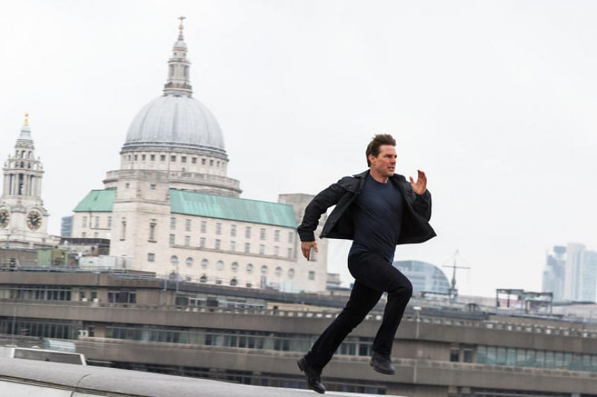 Cinema still of Mission Impossible - Fallout, starring Tom Cruise.