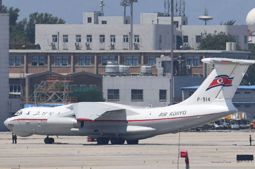 Five Air Koryo flights are scheduled to fly from Pyongyang to Vladivostok.