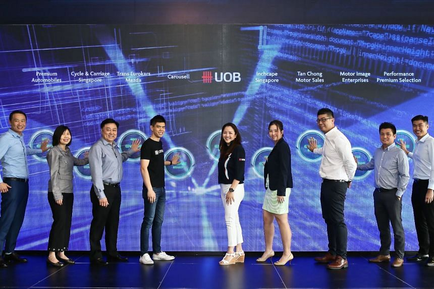 UOB is partnering seven car dealerships and online classifieds marketplace Carousell to offer the speedy digital car loans service.