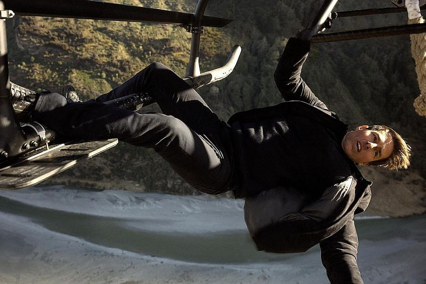 The success of Mission: Impossible - Fallout re-certifies Tom Cruise (above) as an A-list star.