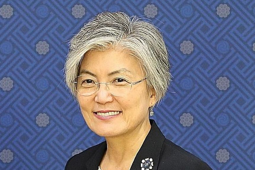 Dr Kang Kyung-wha (above) and Mr Ri Yong Ho will attend the Asean Regional Forum this week.