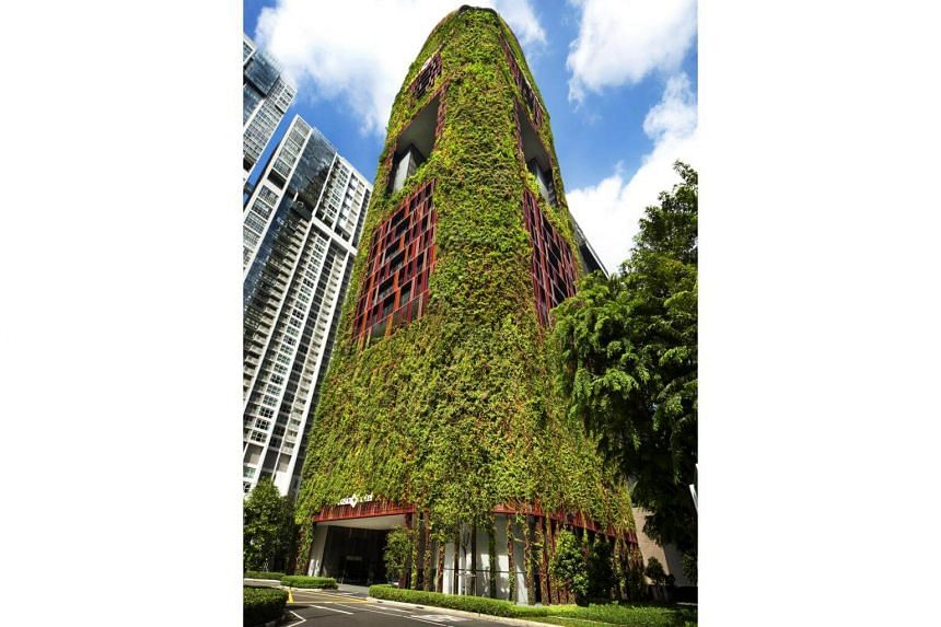 Oasia Hotel Downtown, the trust's design award-winning development at Tanjong Pagar, contributed to earnings for the first time this quarter.