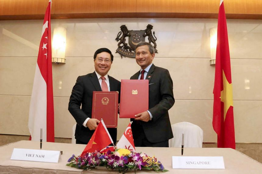 The Memorandum of Understanding covers the principles for the operation of the Vietnam-Singapore Cooperation Centre, which is an enhancement of an existing training centre in Hanoi under the Initiative for Asean Integration.