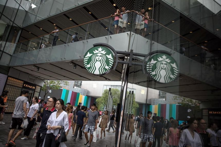 Starbucks is coming to the delivery game late as it faces a rare sales decline in the world's second-biggest economy.